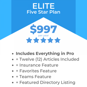Elite Listing Package